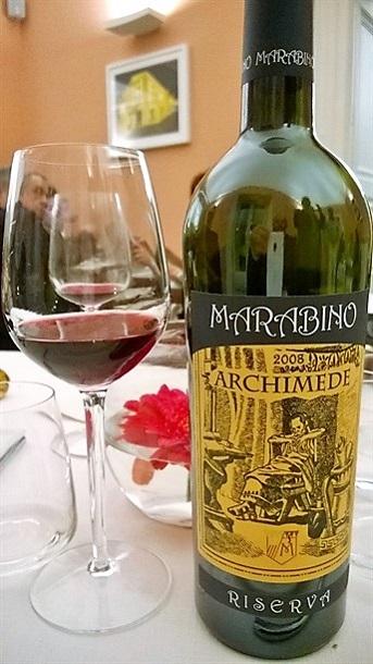 archimede vino marabino
