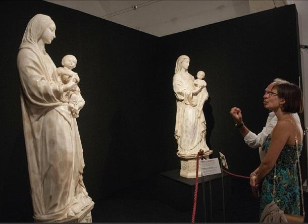 laurana mostra palazzolo madonne col bambino