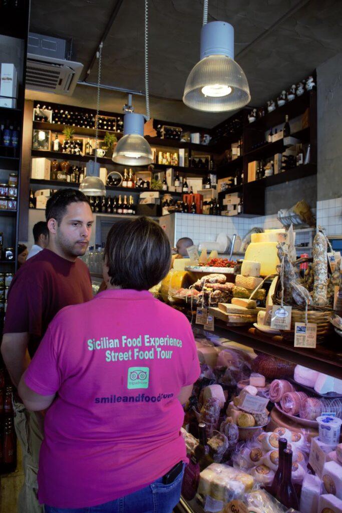Fratelli Burgio Alessia Smileandfood mercato ortigia