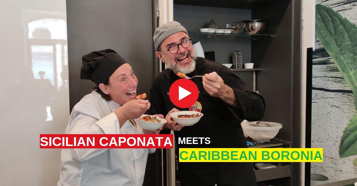 Sicilian Caponata Caribbean Boronìa