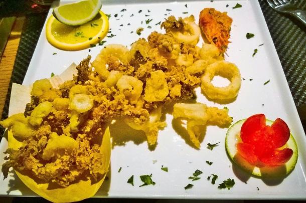 pesce fritto san lorenzo osteria