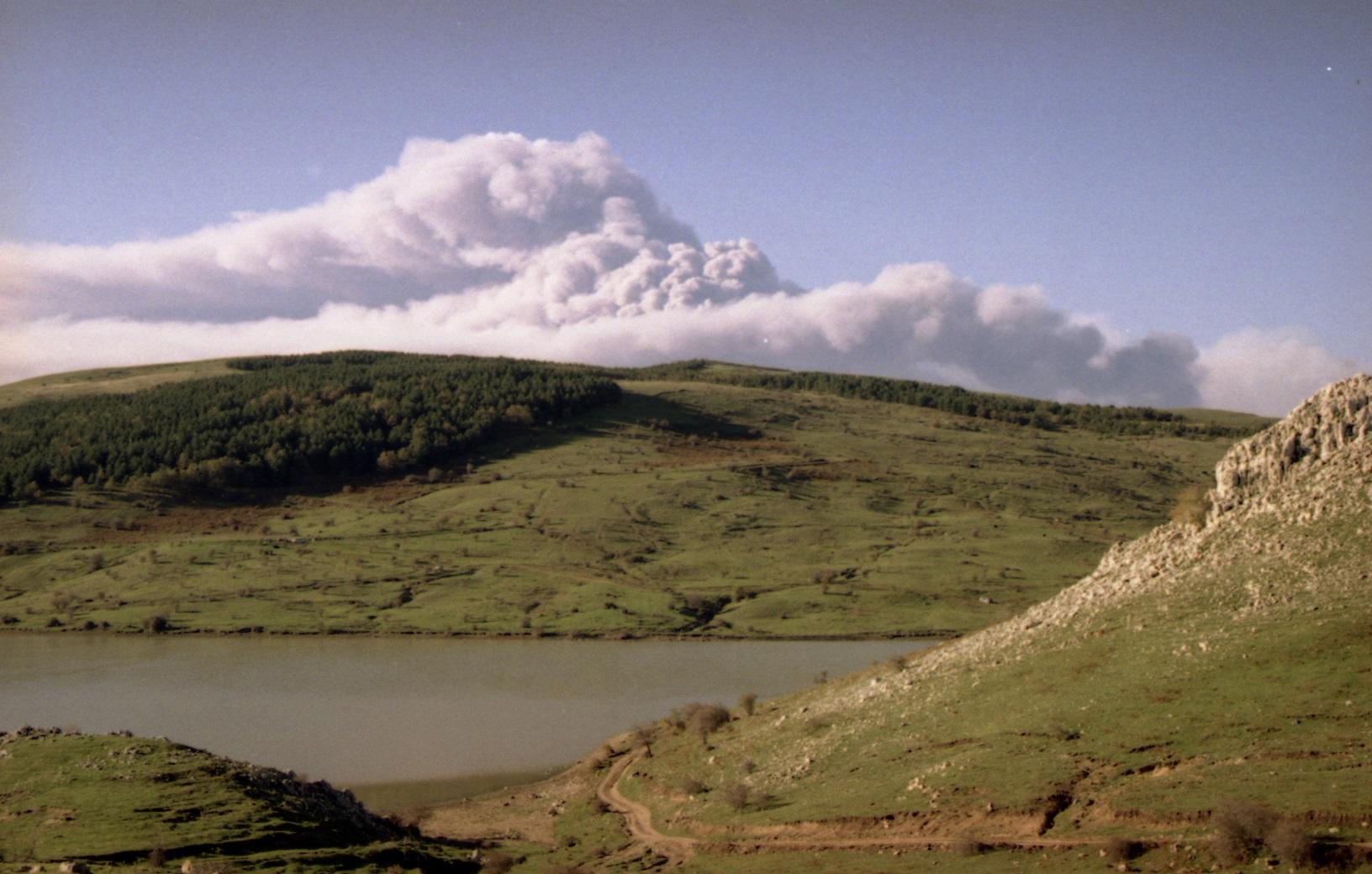 natura sicula Nebrodi trekking lago trarie