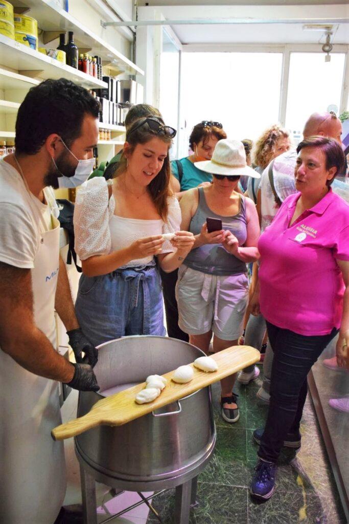 borderi mercato alessia smileandfood mozzarella